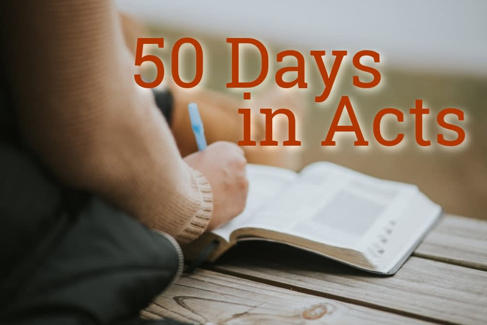 50 Days In Acts