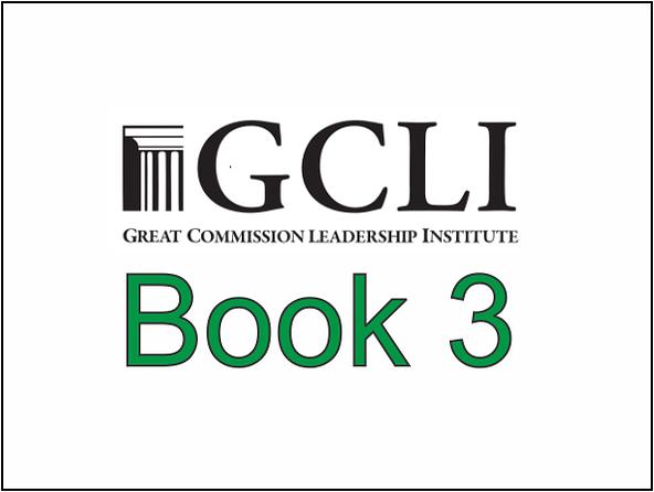 GCLI Book 3