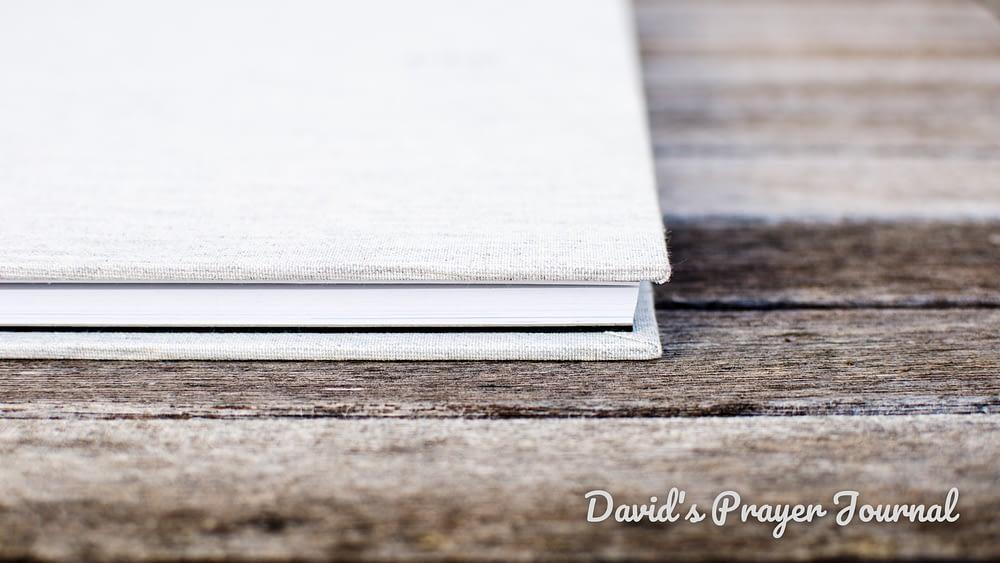 David\'s Prayer Journal